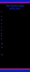 Twelve Steps Banner